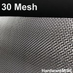 Stainless Steel Wire Mesh SS 304 Insect Netting 30 mesh