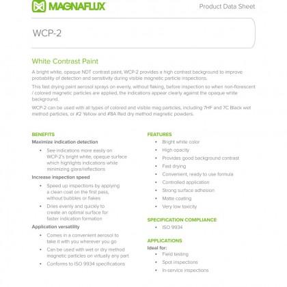 Magnaflux Magnavis WCP-2 Contrast Paint - 345g Aerosol