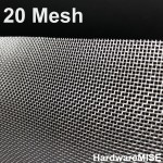 Stainless Steel Wire Mesh SS 304 Mosquito Netting 20 mesh