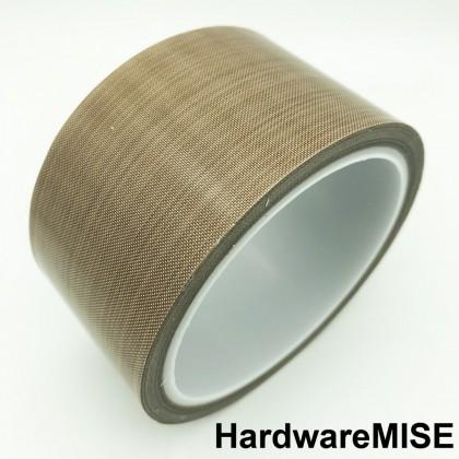 Teflon Sealing Machine High Temperature Resistant Adhesive PTFE Fabric Tape by Taejin