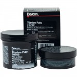 Devcon 10760 Titanium Putty 1 lb. kit