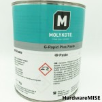 MOLYKOTE G-Rapid Plus Paste Solid Lubricant Paste Black 1KG Can by Dow Corning G Rapid