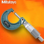 MITUTOYO MICROMETER 103-129 OUTSIDE MICROMETER MADE IN JAPAN