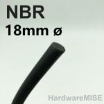 NBR Cord 18mm ø Buna-N O-Ring Cord Nitrile Rubber Round Cord O Ring