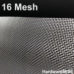 Stainless Steel Wire Mesh SS 304 Netting 16 mesh SS304