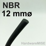 NBR Cord 12mm Buna-N O-Ring Cord Nitrile Rubber Round Cord O Ring