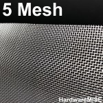 Stainless Steel Wire Mesh SS 304 Netting 5 Mesh SS304 Filtration Grill Sheet
