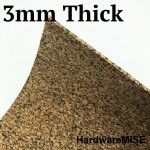Rubberised Cork Sheet 3mm Thick Malaysia Ready Stock