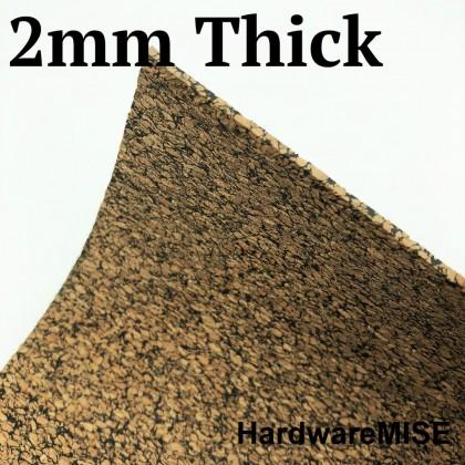 Rubberised Cork Sheet 2mm Thick Malaysia Ready Stock