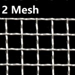 Stainless Steel Wire Mesh SS 304 Netting 2 Mesh 304 Crimped Filtration Grill Sheet