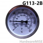 G113-2B Elcometer 113 Magnetic Thermometers 0 to 120 Deg C