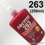Loctite 263 Thread Locker 250ml (Loctite 270 & 271 replaced by Loctite 263) 44069