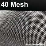 Stainless Steel Wire Mesh SS 304 Netting 40 mesh SS304