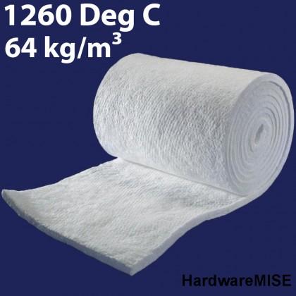 Ceramic Fibre Blanket Ceramic Fiber Wool Isowool Heat Insulation 1260 degree 64kg m3