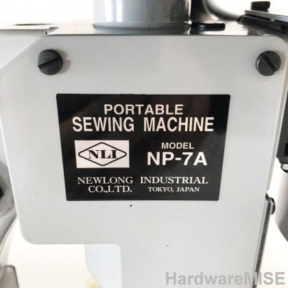Newlong NP-7A Portable Bag Closer NLI Portable Sewing Machine NP7A Mesin Jahit Karung Made In Japan