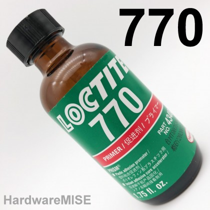 Loctite 770 Adhesive Primer for use with Cyanoacrylate Adhesive 43483 Plastic Adhesion Promoter