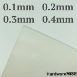 Silicone Rubber Sheet Translucent 0.1mm 0.2mm 0.3mm 0.4mm thick Malaysia Supplier