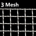 Stainless Steel Wire Mesh SS 304 Netting 3 Mesh 304 Crimped