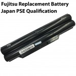 Replacement Laptop Battery for Fujitsu LifeBook A530 A531 AH42/E AH530 AH530/3A AH531 LH52/C LH520 LH522 LH530 LH701 LH701A PH50/C PH50/E PH521 FPCBP250