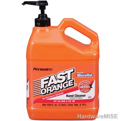 Permatex 25218 Fast Orange Pumice Lotion Hand Cleaner 3.78 L