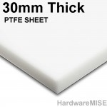 PTFE Plate White Thickness 30mm Cut To Any Size
