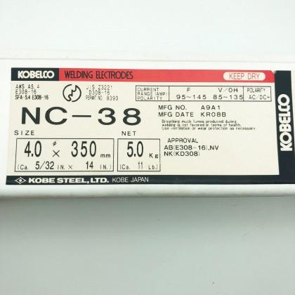 Kobelco NC-38 4mm x 350mm 5KG Welding Electrodes Rod By Kobe Steel