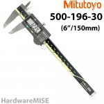 "MITUTOYO 500-196-30 Absolute Digital Caliper 500-196 6"" / 150mm Without SPC Output AOS"