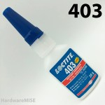 Loctite 403 Instant Adhesive 33388 High Viscocity Low Odor Low Bloom 20g Bottle