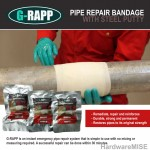 Pipe Repair Bandage No Leakage With Steel Putty