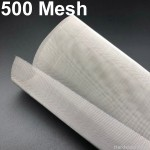 500 mesh 1Mtr W Stainless Steel Wire Mesh SS 304 Netting SS304 Fine Filter Cloth Filtration Woven Screen