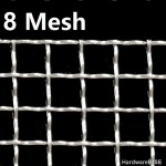 Stainless Steel Wire Mesh SS304 Netting 8 Mesh 304 Crimped