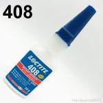 Loctite 408 Instant Adhesive 42695 Low Odor Low Bloom Low Viscosity Clear 20g Bottle By Henkel