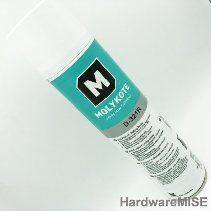 Molykote D-321R Anti Friction Coating Spray 400ml by dow corning