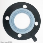 PTFE Bonded EPDM Gasket Full Face Malaysia Supplier